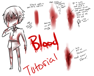 Blood and Wound Tutorial by Brixyfire