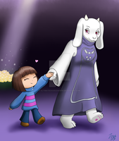 Undertale - Don't be afraid my child. by UltimateCharizard006