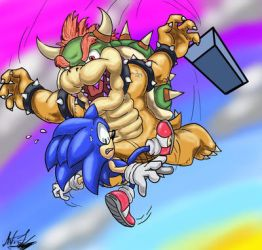 Bowser Diving by Will-the-adventurer