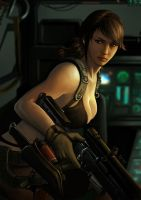 Quiet - MGS V by leonwoon