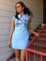 1950s inspired dress by Perez2407