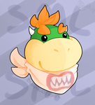 Bowser Jr.  SML Fanart by BusinessTiger