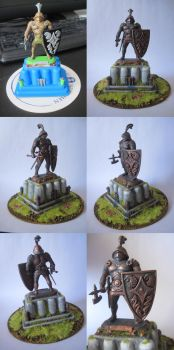 Bronze statue by TheBrave