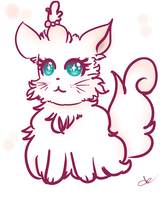 Gatita kawaii by ValeChY