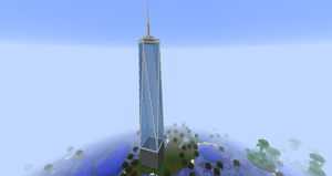 Minecraft - One World Trade Center by MinecraftArchitect90