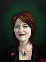 Leanne Wood AM by Rhyn-Art
