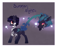 Primal Plant Pony Auction (CLOSED) by Glitterring