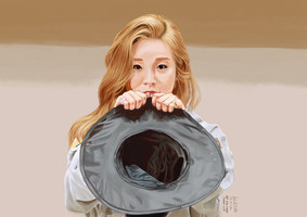 Puppy Eyed Wheein by kaichi1342