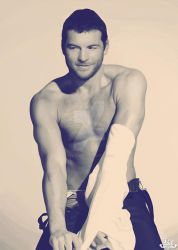 Sam Worthington and his Shirt by Kc-Eazyworld