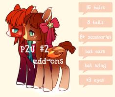 Add-ons for P2U #2 by Miioko
