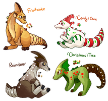 Holiday Paralogos Auction! (CLOSED) by mewhaku