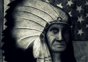 Red Indian by emafar