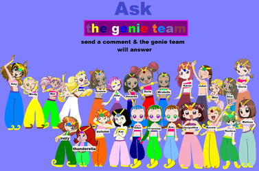 Ask The Genie Team (fully updated) by grantgman