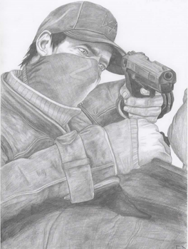 Aiden Pearce - Watch Dogs by Antylopa