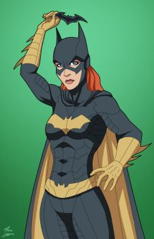 Batgirl 1.5 (Earth-27) commission by phil-cho