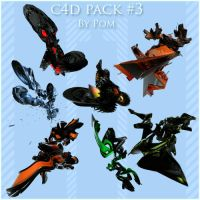 C4D Pack 3 by Pom by cptpomeroy