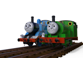 Thomas and Percy UPDATED by JonathanOswinOswald