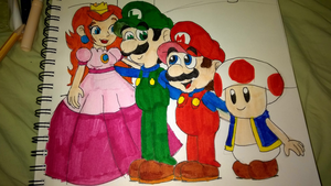 Super Mario Bros. Super Show~Friends For Life by LuigiKittyKat