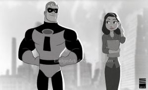 Paper INCREDIBLES by EadgeArt