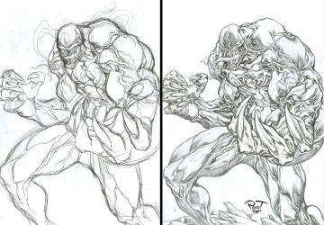 Venom....studying character by pant