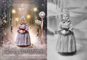 Con sabor a Navidad-Before and after by Marazul45