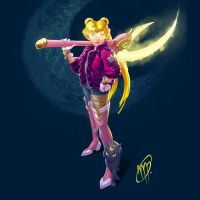 Sailor Moon Redesign by mikepetherick
