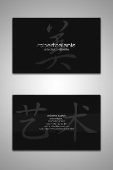 Personal Business Cards 2 by Der-Alter-Mann