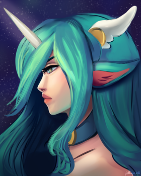 Star Guardian Soraka by jellophish