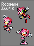 Amy Rose Olympic Games sprites by RockMan6493