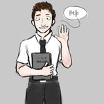 Hello! My Name is Elder Price (The Book of Mormon) by BabyMallows