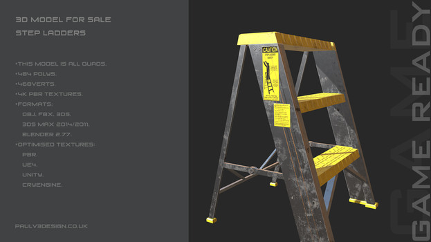 PV3D - Step Ladders by PaulV3Design