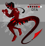 Reaper Adoptable #4 - DTA [CLOSED] by floofyowl