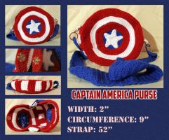 ...captain america sheild purse... by ruiaya