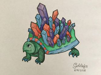 Crystal Turtle by SweetieBot3000