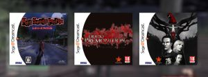 Deadly Premonition Dreamcast Covers by marblegallery7