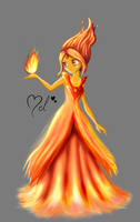 Princess Flame by MelciAdR