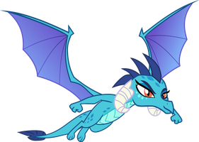 Princess Ember Flying by Hendro107