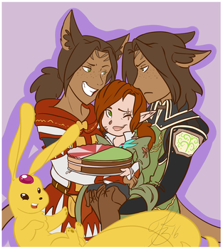 Happy Birthday now eat some cake! by Keali