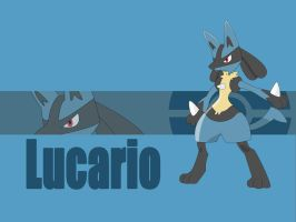 Lucario Wallpaper by jenhamlin