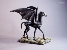 Thestral by miaushka-workshop