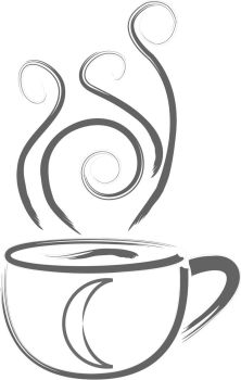 Coffee Mug Vector by SilverRose-Stock