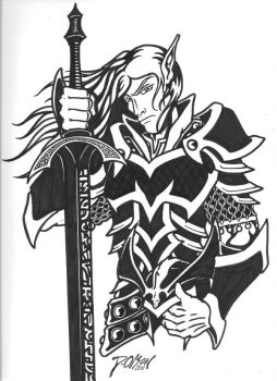 Elric Ink by D-Olson