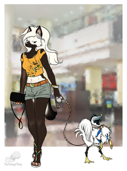 Going shopping by TheStrangeThing