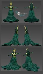 Lady Loki 3D Model by LordMaru4U