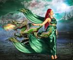 Dragon Woman by CarmensArts