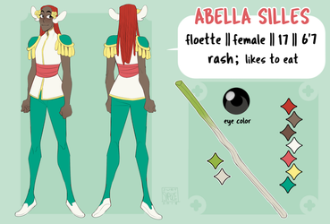 Abella - Reference Sheet by justsnooze