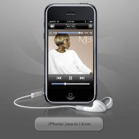 iPhone -music- icon by twinware