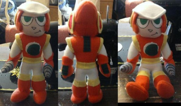 Crashman Plush by IrashiRyuu