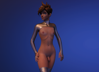 Femboy Tracer by Disembowell