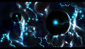 Pacman in Space by ElSohnSchon